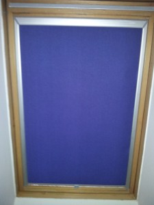 Textilní roletka do střešního okna Velux
