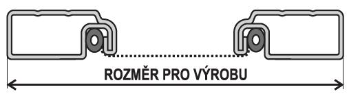 OV 25x10 rozměr pro výrobu