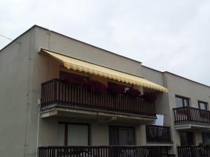 Balkonové zastínení