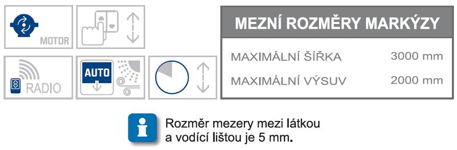 Ghibli 2 max rozměry a možnosti ovládání