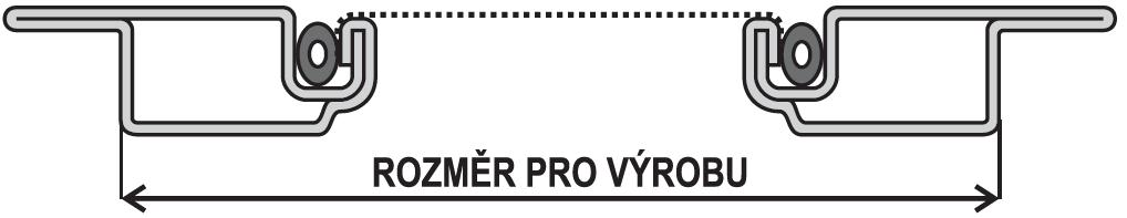 ISSO OV 19x8 rozměr pro výrobu