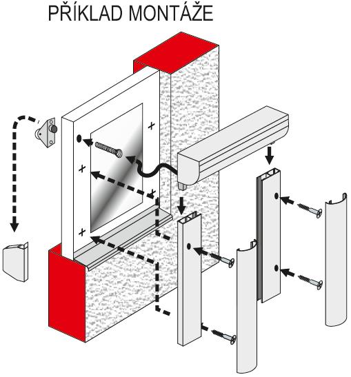 Radix R1 příklad montáže