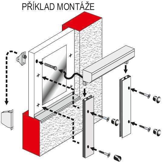 Radix příklad montáže