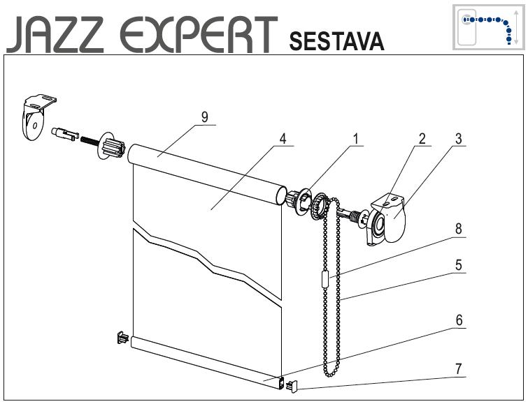 Jazz expert sestava